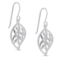 Angela Daniel Vine Leaf Earrings