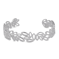 Angela Daniel Scattered Leaf Cuff