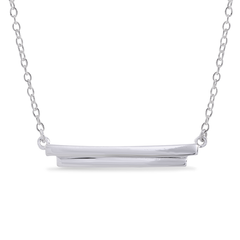 Angela Daniel Bar Necklace