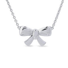 Angela Daniel Bow Necklace