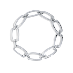 Angela Daniel Open Rectangle Bracelet