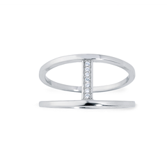 Angela Daniel Line Ring