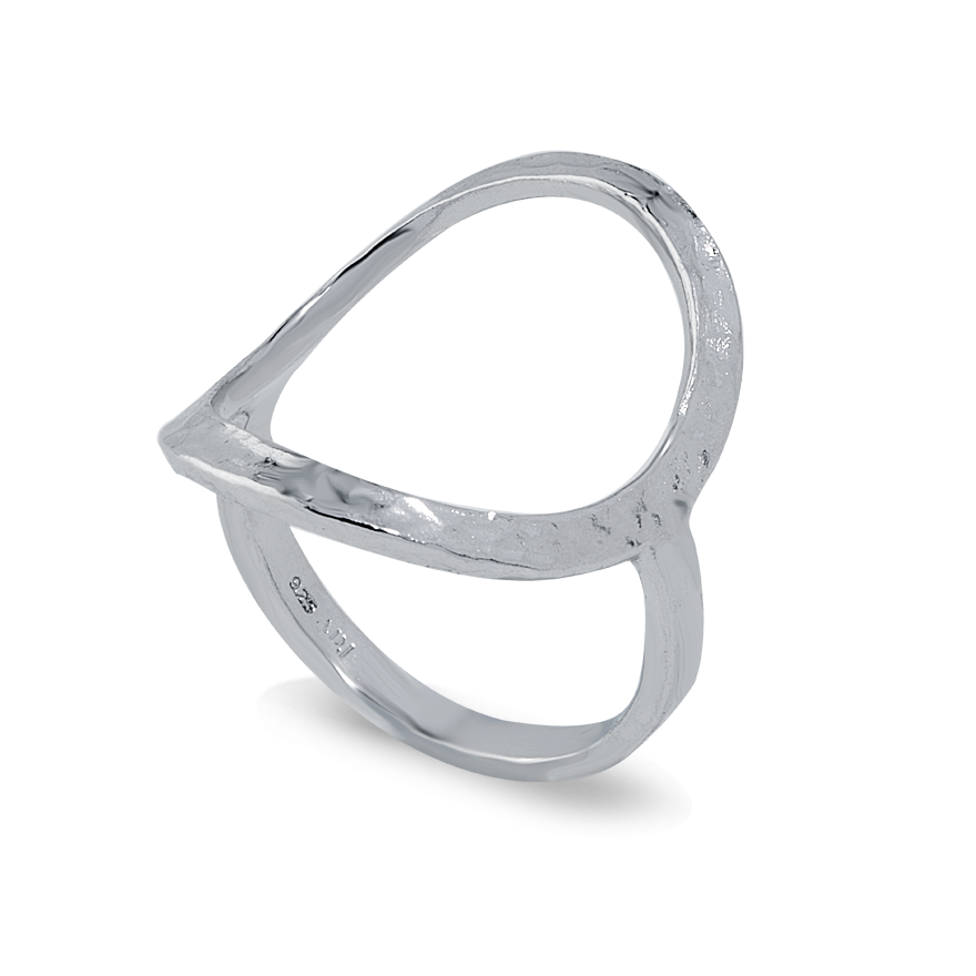 Angela Daniel Open Circle Ring I
