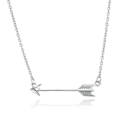 Angela Daniel Arrow Necklace