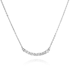 Angela Daniel Eternity Bar Necklace