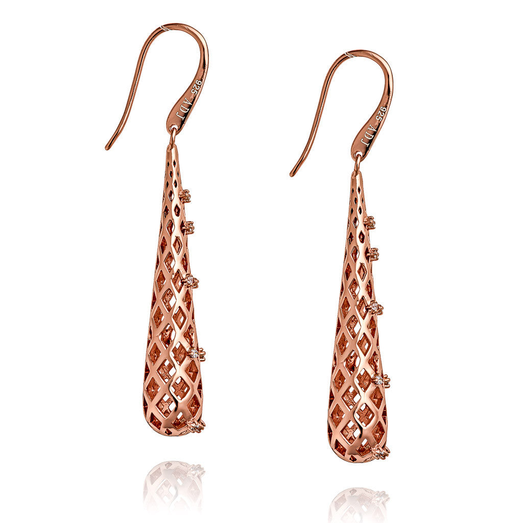 Angela Daniel Lattice Earrings