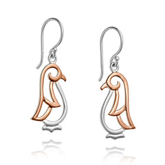 Angela Daniel Penguin Earrings