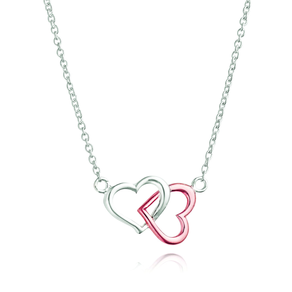 Angela Daniel Love Lock Necklace
