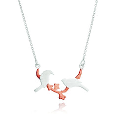 Angela Daniel Love Bird Necklace