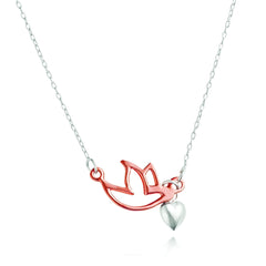 Angela Daniel Love Dove Necklace