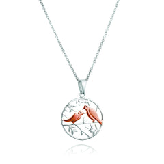 Angela Daniel Birds of a Feather Pendant