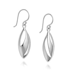 Angela Daniel Open Flame Earrings