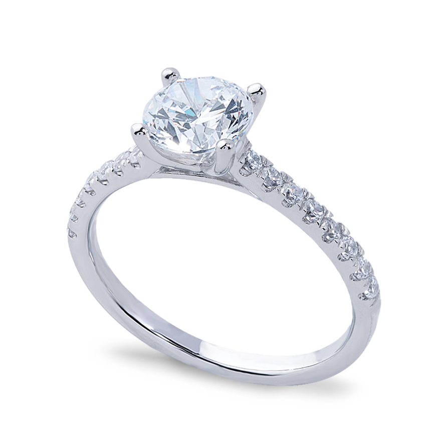 ROSEANNA SETTING - .50 CT