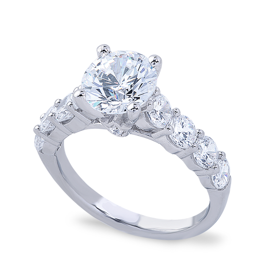 ADRIANNA SETTING - 1.00 CT PLAT
