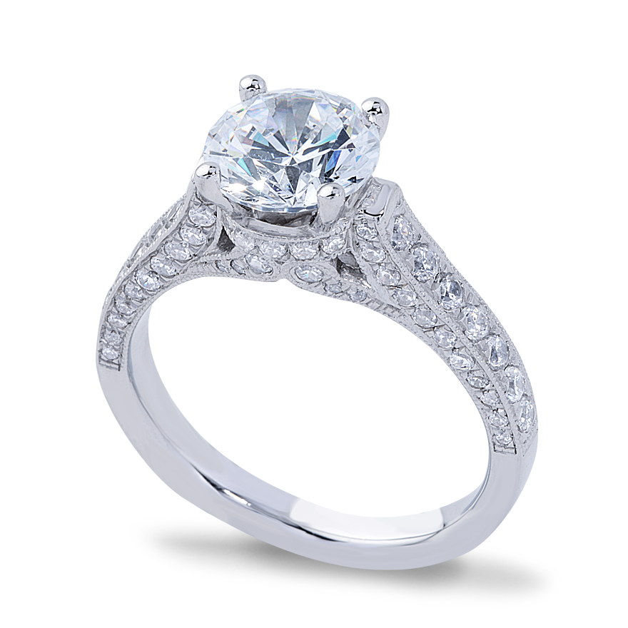 AUDREY SETTING - .50 CT