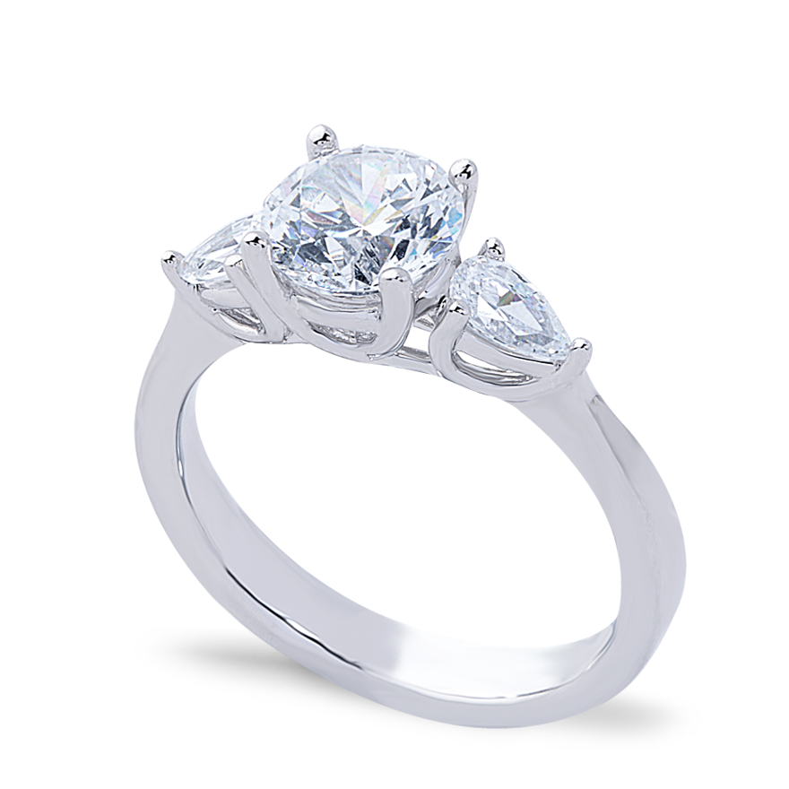 MONICA SETTING - .50 CT PLATINUM