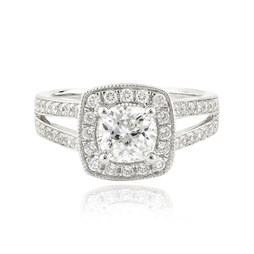 ARABELLA SETTING - 1 CT PLATINUM