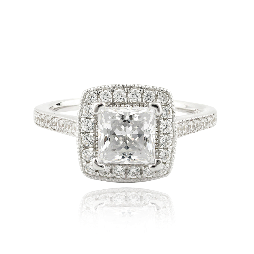 CHLOE SETTING - 1.25CT PLATINUM