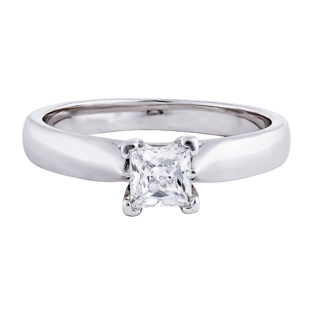ELLE - 0.50 CT PLATINUM