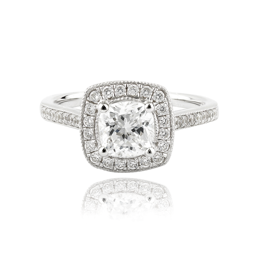 Lillian Setting - 1ct PLATINUM