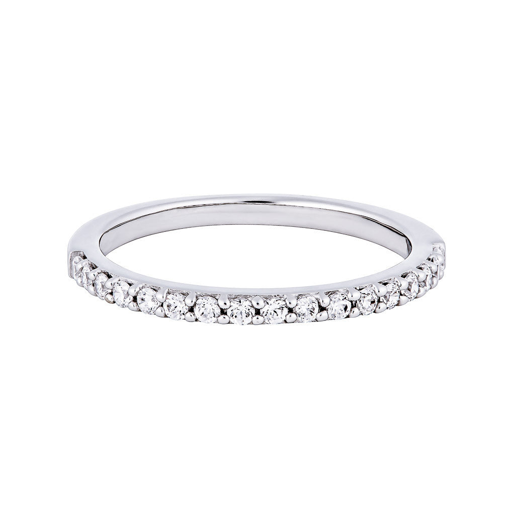 MAGGIE WEDDING BAND PLATINUM
