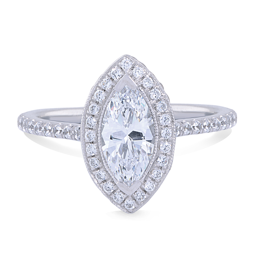 MARIA SETTING - 1 CT PLATINUM