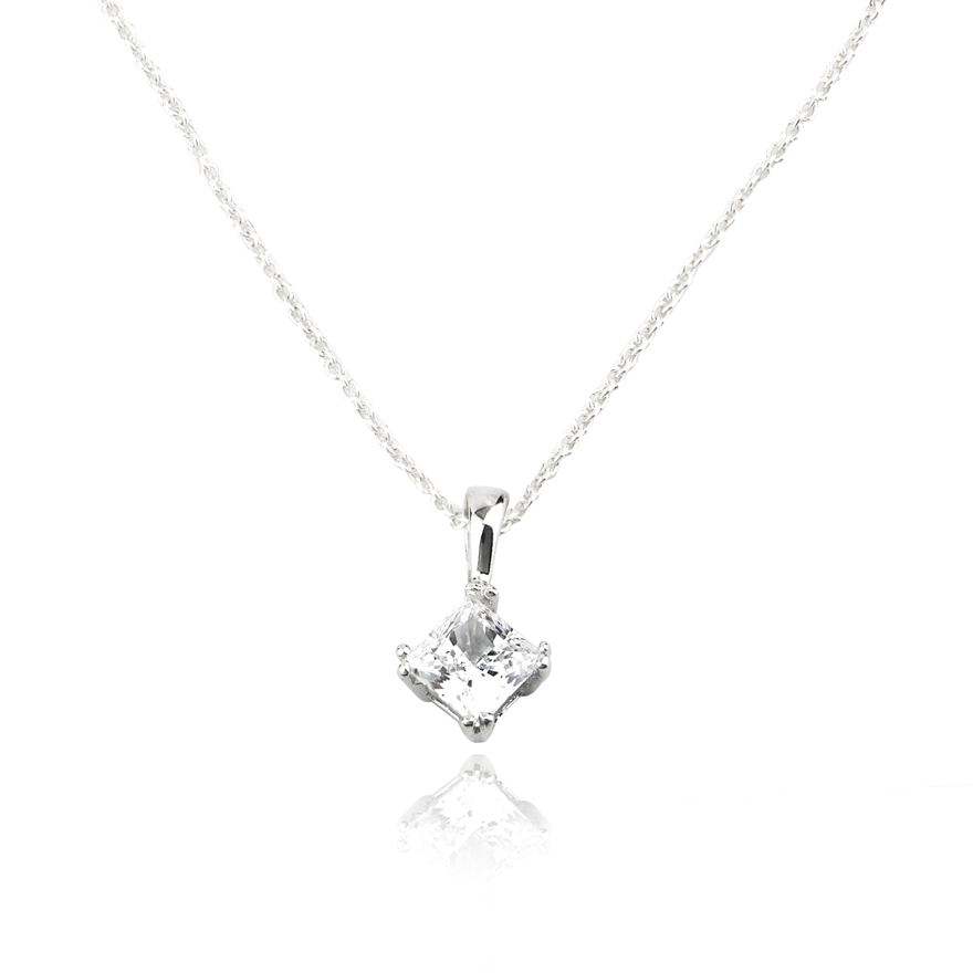 Angela Daniel 'Diamond' Shape Pendant
