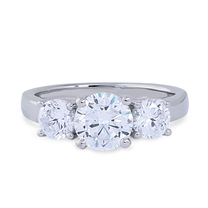 PHOEBE SETTING - .50 CT PLATINUM