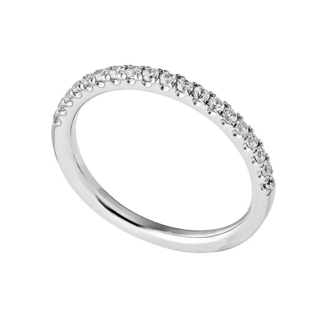 DIAMOND WEDDING BAND PLATINUM