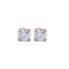 0.20ct Diamond Solitaire Stud Earrings