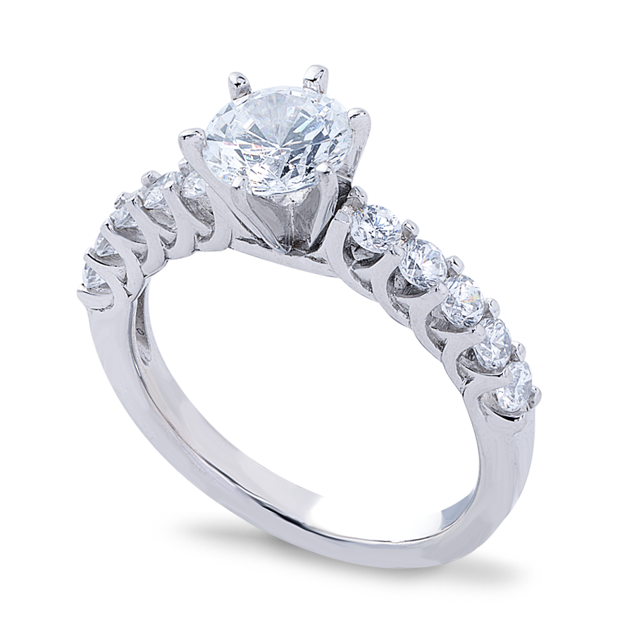Isadora Setting - 1ct PLATINUM