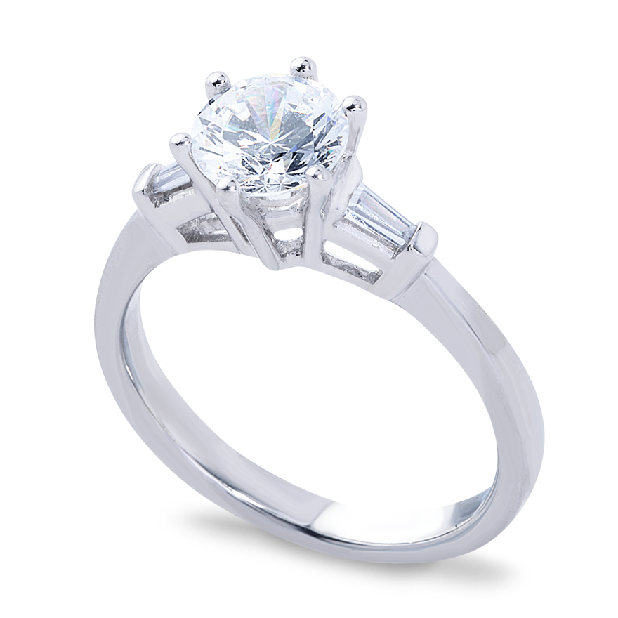 Valentina Setting - 1ct. PLATINUM
