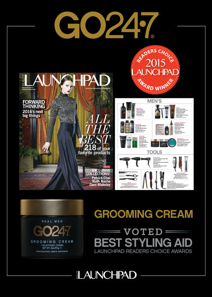 GO247 wins award for Grooming Cream in Launchpad Magazine