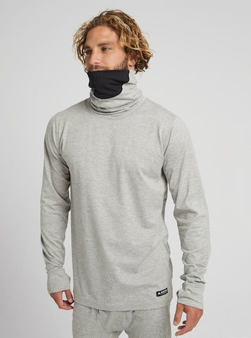 Men's Burton Midweight Base Layer Long-Neck Shirt Fall 2020