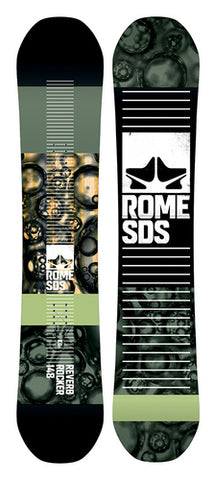 Rome Men's Reverb Rocker Snowboard Winter 2018