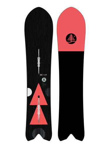 Burton Women's Family Tree Stick Shift Flat Top Snowboard Winter 2020