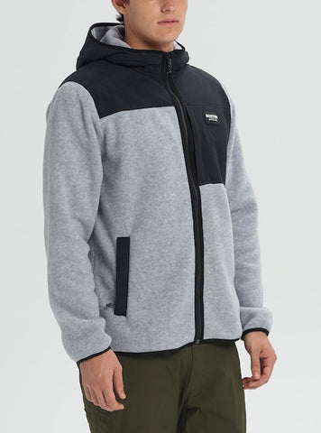Men's Burton Hearth Full-Zip Hooded Fleece Fall 2020