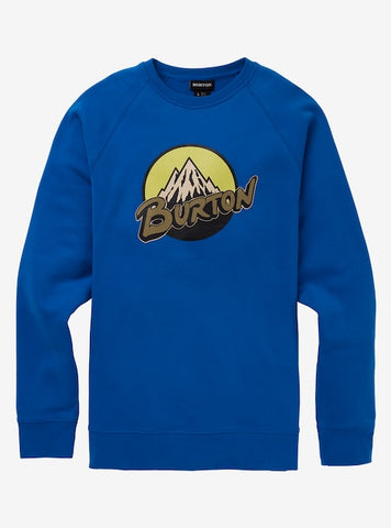 Men's Burton Retro Mountain Crew Sweatshirt Fall 2020