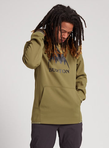 Men's Burton Crown Weatherproof Pullover Fleece Fall 2020