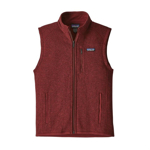 Patagonia Men's Better Sweater Fleece Vest Fall 2018