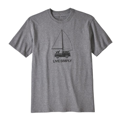 Patagonia Men's Live Simply Wind Powered Responsibili-Tee Spring 2019