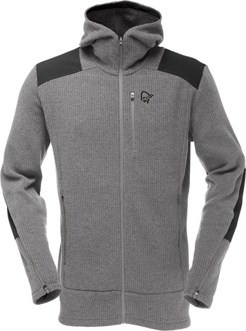 Norrona Men's Tamok Wool2 Zip Hoodie Winter 2017