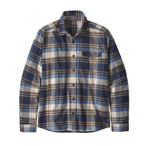 Patagonia Men's Long-Sleeved Lightweight Fjord Flannel Shirt Winter 2019
