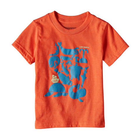 Patagonia Baby Live Simply Sea Buds T-Shirt Summer 2017