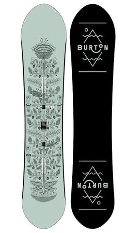 Burton Women's Day Trader Snowboard Winter 2018