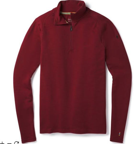 Smartwool Men's Merino 250 Base Layer Pattern 1/4 Zip Winter 2018