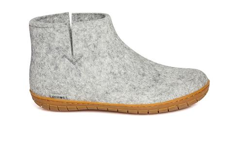 Glerups Low Boot Grey Rubber Summer 2020
