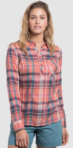 Kuhl Women's Spektra Plaid Shirt Spring 2018