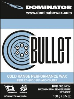 Dominator Bullet 100g Wax Winter 2020