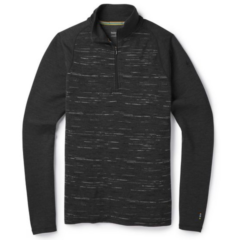 Smartwool Men's Merino 250 Base Layer Pattern 1/4 Zip